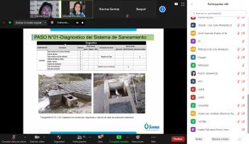 Sunass continúa trabajando para contribuir con la sostenibilidad de los servicios de saneamiento en el ámbito rural de Huánuco