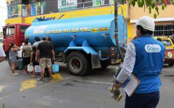 Sunass verifica distribución de agua potable en San Juan de Lurigancho