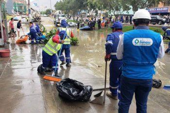 Sedapal indemnizará económicamente a familias afectadas por aniego en San Juan de Lurigancho