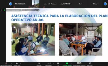Sunass promueve sostenibilidad de la prestación de los servicios de saneamiento en el ámbito rural de Huánuco