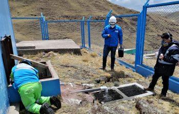 Pasco: Sunass verificó prestación de los servicios de saneamiento en pequeñas ciudades de Huayllay y Colquijirca