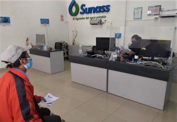 Junín: Sunass reanuda atención presencial a usuarios de los servicios de saneamiento cumpliendo protocolos de bioseguridad