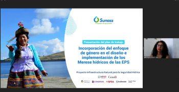Sunass promueve participación de la mujer en la conservación de fuentes de agua para los servicios de saneamiento