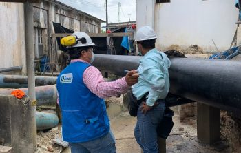 Sunass verifica restablecimiento del servicio de agua potable en Iquitos