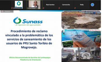 Lambayeque: Sunass realiza microaudiencias para contribuir en la solución de la problemática del servicio de saneamiento