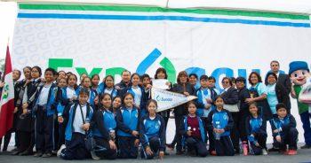 Sunass premió a colegios con las mejores prácticas de uso y reúso del agua en feria Expo Agua