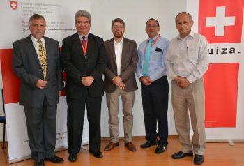 Cooperación Suiza-Seco apoyará el fortalecimiento del sector agua y saneamiento
