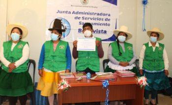 Áncash: Sunass reconoce a JASS de Shupluy por implementar buenas prácticas de saneamiento rural