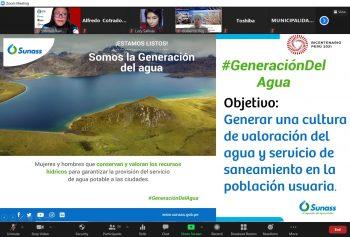 Pasco: Sunass promueve cultura de valoración de fuentes de agua para consumo humano
