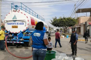 Piura: Sunass verifica abastecimiento alternativo del servicio de agua potable en urbanización Santa Margarita