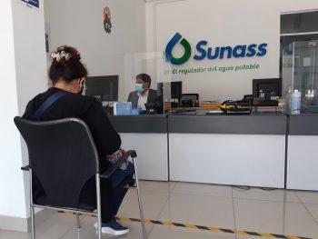 Chimbote: Sunass retomó atención presencial a usuarios de los servicios de saneamiento