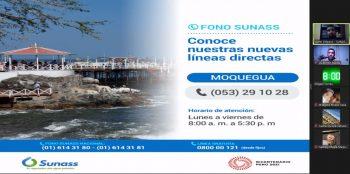 Moquegua: Sunass capacitó al Cuerpo General de Bomberos sobre los servicios de saneamiento